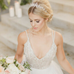 Wedding Crown with Pearls Vintage