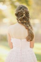 old wedding headpiece hair jewelry
