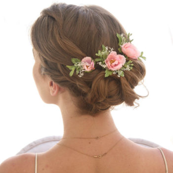 Floral Wedding Hair Combs and Pins