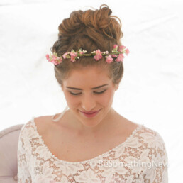 flower crown, pink rustic halo bridesmaid wreath rustic wedding bridesmaids wreath flower girl crown