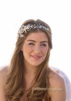 Wedding Starfish Hair Vine