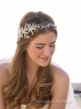 Starfish Wedding Hair Vine