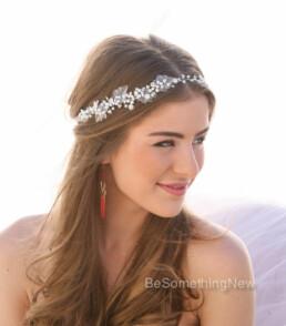Pearl and Rhinestone Wedding Hair Vine