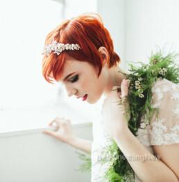 Vintage Jewelry Wedding Tiara , bridal headband