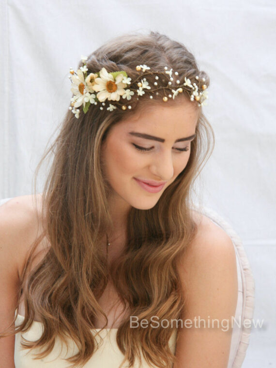 Bridal Hair Accessories Boho : Boho wedding u2013 be something new