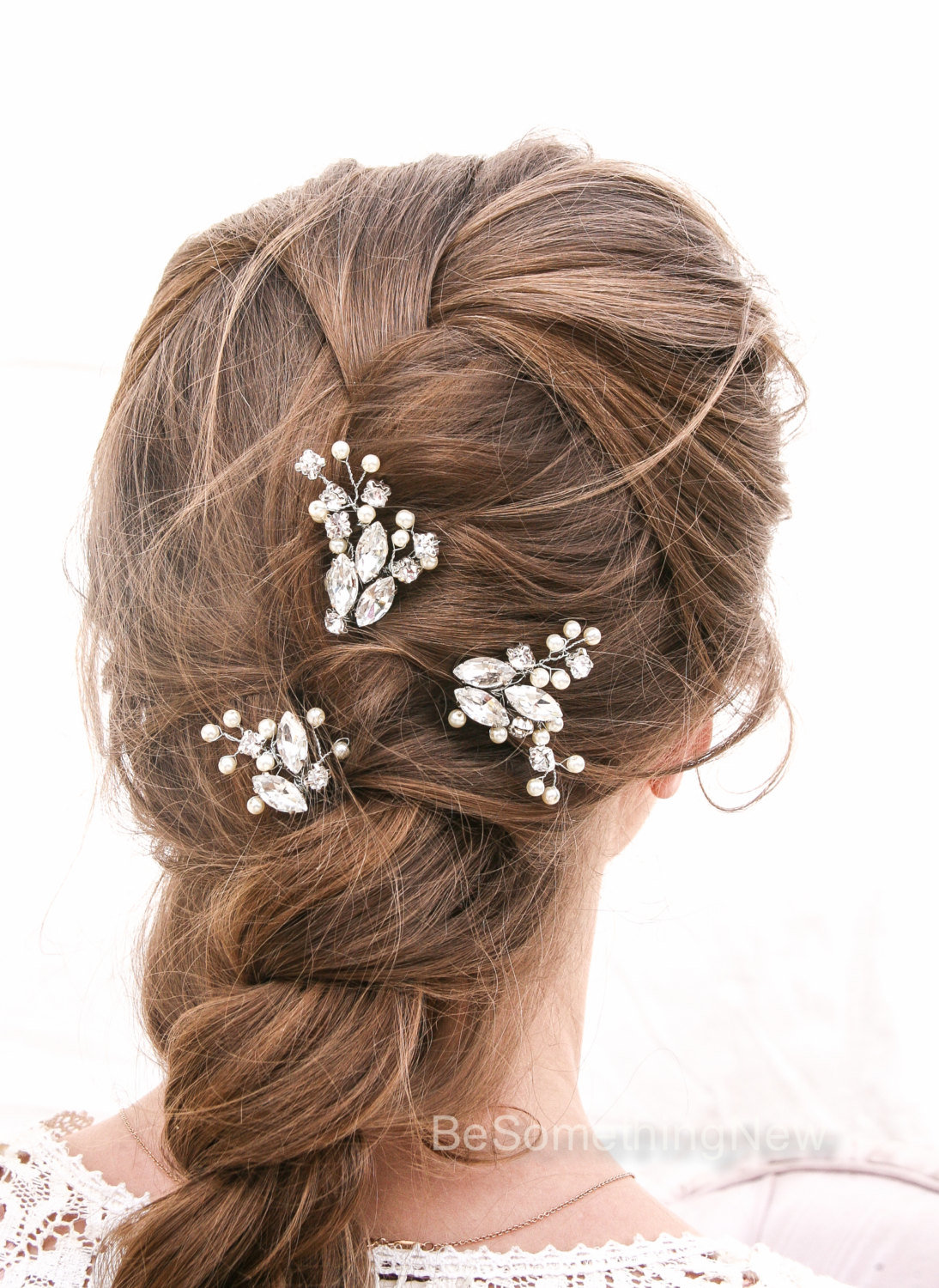 Rhinestone And Pearl Beaded Hair Pin Set Decorative Wedding Hair Accessories U2013 Be Something New