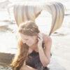 beach wedding, mermaid wedding, star headpiece,