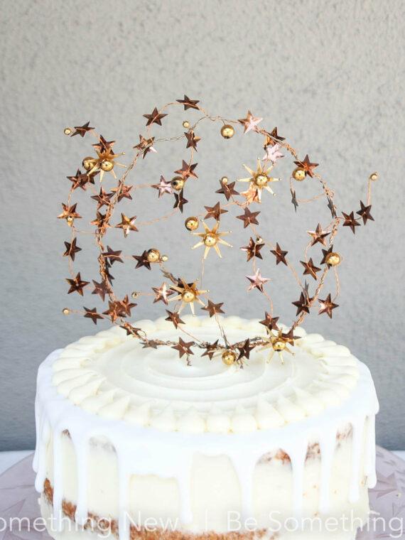 Celestial Wedding, star Cake Topper, Copper and Gold, Star Wedding Decor, Boho Weddings, Astrological, Cake Picks, Mixed Metal, cake topper, Boho cake topper, wedding cakes, wedding decor,