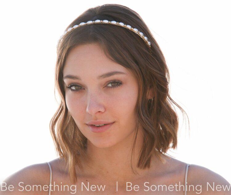 Pearl Headband, Simple headband, Gold Headband, Vintage Rice Pearls, Hair Accessory, hair Trend, mother of the bride, bridesmaids hair, beaded headband, fashion headband,