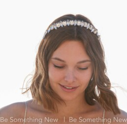 rhinestone headband wedding tiara
