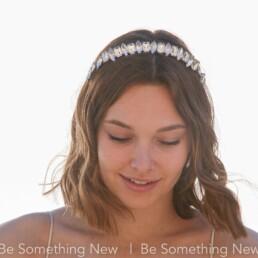 rhinestone headband wedding tiara