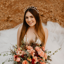 celestial wedding star crown