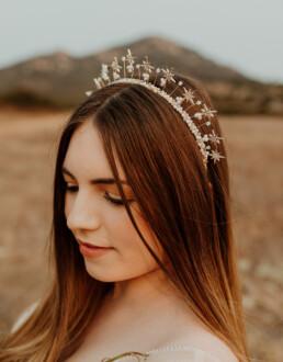wedding star celestial tiara