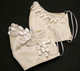 fancy fasemasks face masks for weddings, lace face masks silk and lace masks
